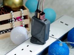 【X'mas Special】暢遊全球.安全速充 Verbatim 4 Ports USB 旅行充電器