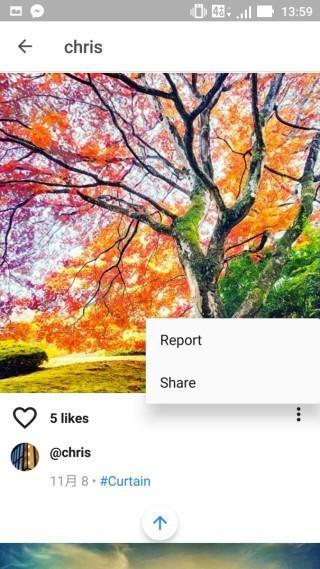 我們可把別人的相片分享到其他平台,希望自己的作品有更多人能欣賞吧?