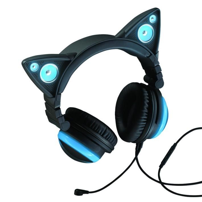 動漫畫迷最愛的貓耳型耳機。