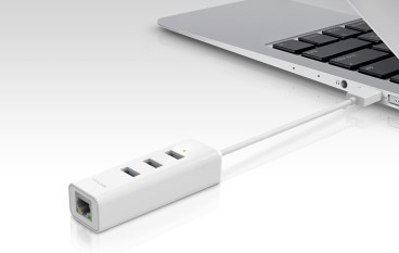USB Hubs + LAN 卡二合一 TP-Link UE330