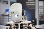 Vorstellung des Roboters Roboy, einer Neuentwicklung  des Artificial- Intelligence- Lab der Universität Zürich.  27.Februar 2013.  Bild: Adrian Baer