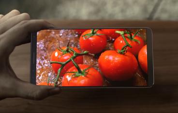 Samsung S8 屏幕展示影片