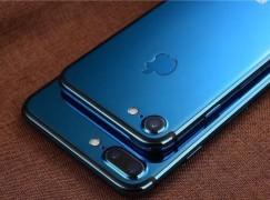 很想要吧! 客製版本亮藍色 iPhone 7