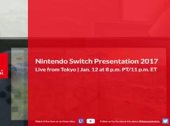 任天堂 1/13 舉行 Switch 發佈會!同日開放預購