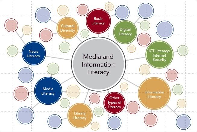 資訊技能可細分成更多不同類別。