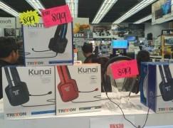 【場報】唔使一舊水 打機 headset 大特價