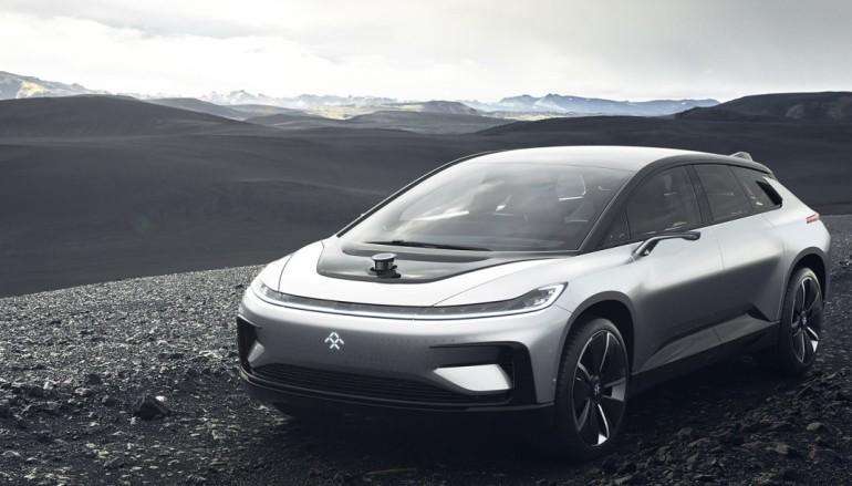 【CES 2017】樂視發布 Faraday Future 電動車 0-60 快 Tesla 0.1 秒