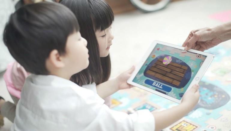 保護地墊加埋AR 等兒童邊玩邊學習