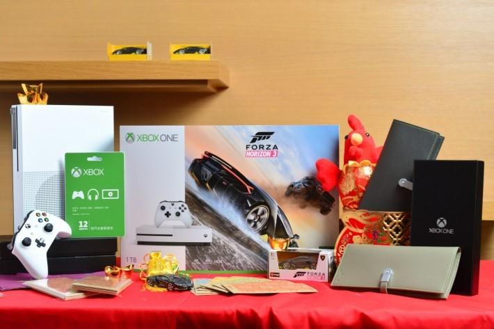 目前預訂《Froza Horizon 3》Xbox One S 主機套裝的話,更可以獲得林寶堅尼 Centenario 的跑車模型及4 款跑車的下載碼。