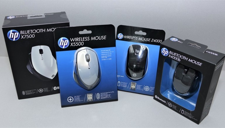 拒絕束縛 HP 無線及藍牙滑鼠系列