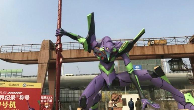 全球最大 EVA 初號機雕像落戶上海