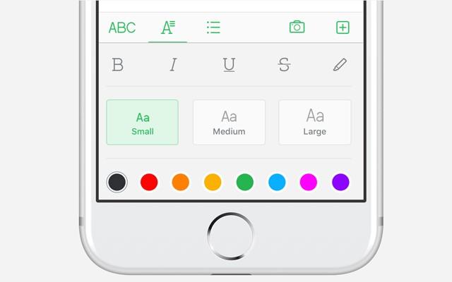 利用顏色格式,使文件的資料更清晰。