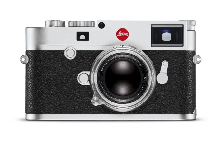 Leica M10 的外形保留著傳統 Leica M 的古典特色。