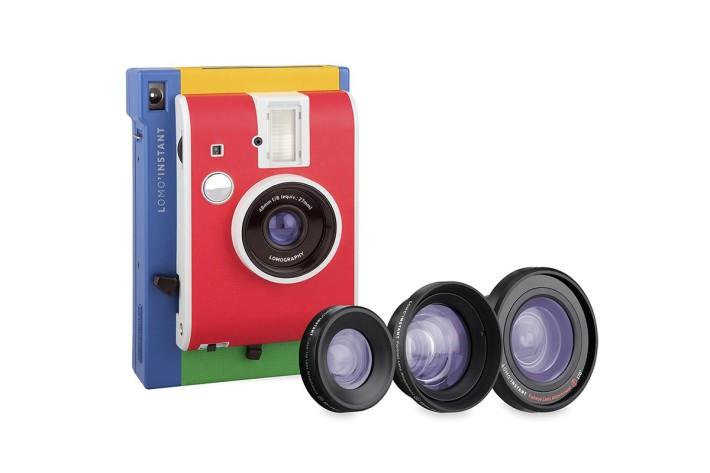 Lomo'Instant鏡頭套裝會備有幾款鏡頭,拍攝出特別風格的即影即有相片。