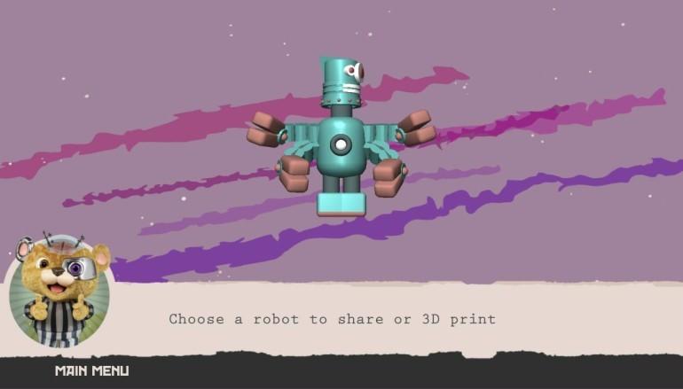 輕鬆拼砌機械人 用 3D 打印機直接打印