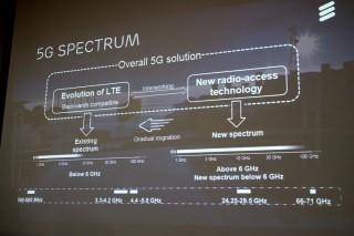 除了使用現有 LTE 網絡使用的頻譜之外,5G 更會用上高頻頻譜進行傳輸。