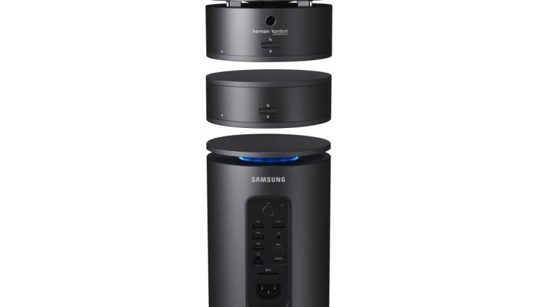 Samsung 超型 ArtPC Pulse 圓柱體電腦