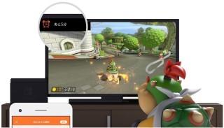 提示模式下,畫面左上角會提示遊玩時間。