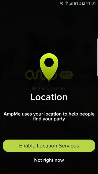 下載app後大家需要開啟定位服務