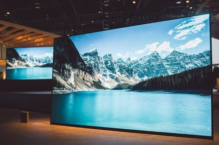 CES 2017 - Sony OLED