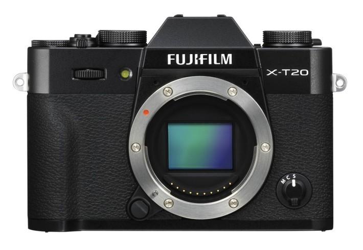 X-T20 同樣備有全黑版本,感覺較沉實。