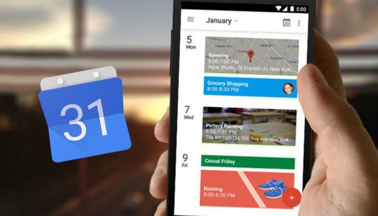 2017 年健康新目標 Google Calendar 幫你全程紀錄