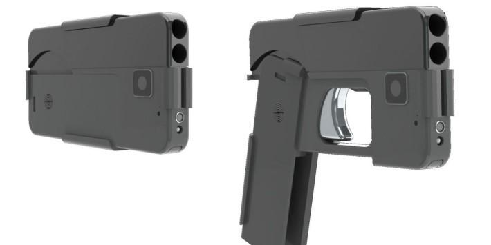 其實這支手槍變形結構非常簡單