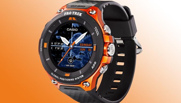 Casio 第二代智能腕錶 WSD-F20