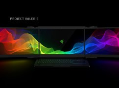 【CES 2017】 誇張!! Razer 推出 4K 三屏電競 Laptop!