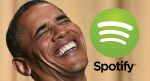Spotify 向奧巴馬招手