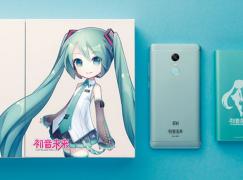 初音未來 紅米 Note X