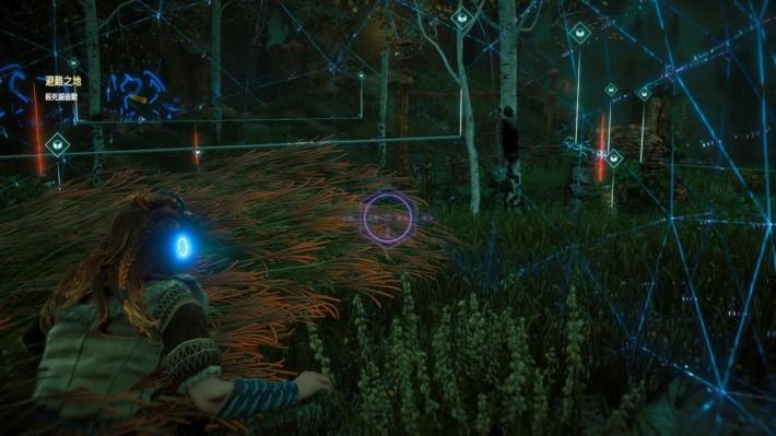 大量敵人圍困著玩家?不妨用潛行方式,嘗試佈下結界與陷阱,再投出石頭引誘敵人中計,往往可以產生意想不到的效果。