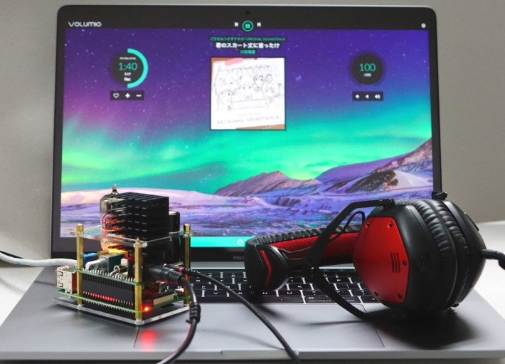 RPi 配合 503HTA ,提供非一般的音色享受。