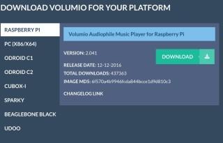 雖然《Volumio》主要支援多款單晶片電腦,不過也支援安裝在一般 PC 上。