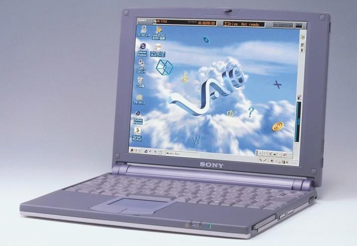 .20年前 Sony 推出第一部筆記簿電腦 VAIO 505 ,無論用色及外型設計都一嗚驚人。
