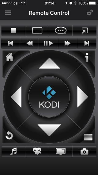 支援手機、網頁等遙控是 Kodi (OSMC) 的一大賣點