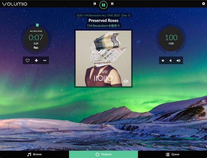 Volumio 是不錯的音樂播放平台,透過安裝插件來支援 503HTA 的附加功能,包括支援 Spotify 串流音樂。