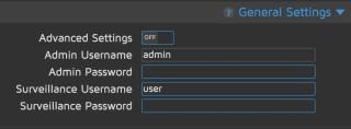 這個部份的設定全部都重要,你一定要設定好兩組密碼,並更改用戶名以免有心人用預設用戶名來強攻。如果連用戶名都改掉的話,對方就要連猜兩組字串,難度肯定大大提高。而 Advanced Settings 也是應該開啟以作更仔細設定。