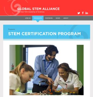 美國倡導各類型教育專業發展,因此衍生的相關行業也多,STEM 教育也開始出現認證,正正演繹出轉變也是轉機。