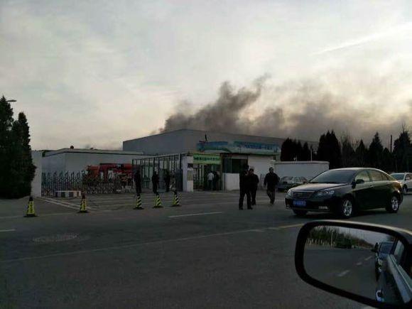 SDI 天津廠房發生火警。