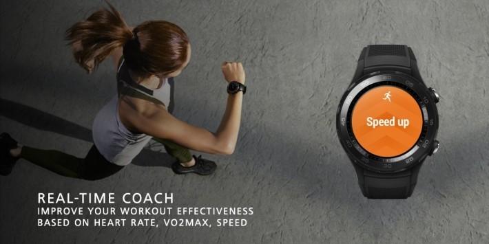 具備有心率偵測功能,更可透過即時私人教練提示用戶。