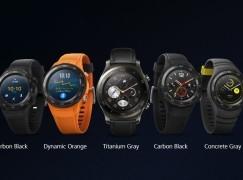 【MWC 2017】Huawei Watch 2 運動型智能手錶玩全能