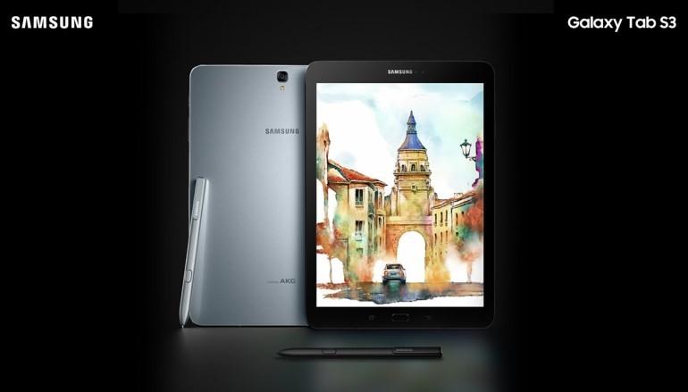 【MWC 2017】Samsung 兩款平板 Tab S3 及 Galaxy Book 掛帥