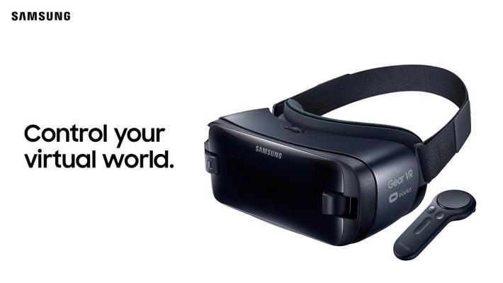 會上亦同時宣布推出 Samsung GearVR with Controller。