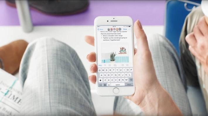 手機版支援 iOS 及 Android 系統,隨時隨地都可進行文件編輯。