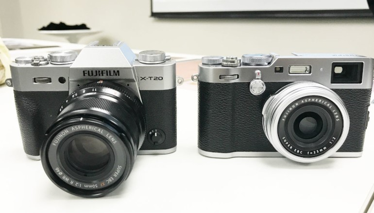 Fujifilm X100F 、 X-T20 登陸 各有所好