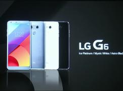 【MWC 2017】LG G6 正式登場 長屏幕加相機創意爆燈
