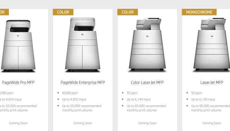 HP收購三星打印 四月推新機攻影印市場