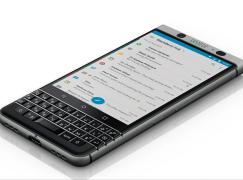【MWC 2017】BlackBerry 招牌鍵盤重現 新機 KEYOne 現身