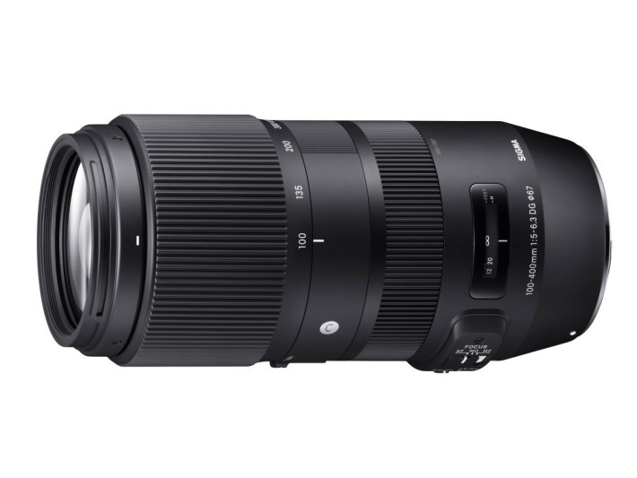 SIGMA 100-400mm F5-6.3 DG OS HSM Contemporary 提供 3 種對焦設定。